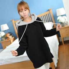 Buy 'CLICK – Contrast Hood Fleece Pullover' with Free International Shipping at YesStyle.com. Browse and shop for thousands of Asian fashion items from South Korea and more!