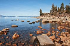 We would love to go to Lake Tahoe! It would be nice to sleep in our tent and wake up with such a view! 😍