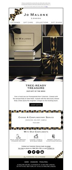 Jo Malone - The Pomegranate Noir Collection is Our Gift of the Week