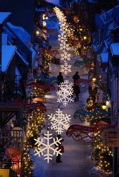 Christmas in Quebec City - Canada http://www.janetcampbell.ca/