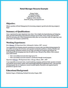 nice crafting a great assistant store manager resume check more at http resume objective examplesresume