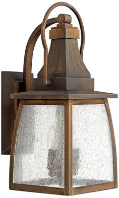 "Hinkley Montauk Sienna 17 1/4"" High Outdoor Wall Light -"