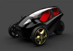3Wheeler concept from industrial designer Daniel Julier...TANDEM SEATING