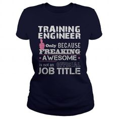 Awesome Training Manager T Shirts, Hoodies, Sweatshirts. BUY NOW ==► https://www.sunfrog.com/Jobs/Awesome-Training-Manager-Shirt-Navy-Blue-Ladies.html?41382