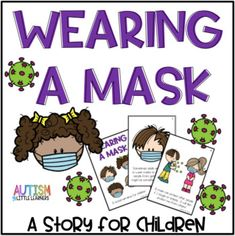 Many states are starting to require or encourage people to wear a mask if they are out in public. This is new for adults and kids. This story can help kids understand why they need to wear a mask and reassure them that it is okay. Preschool Classroom, Preschool Learning, Learning Resources, In Kindergarten, Preschool Activities, Classroom Ideas, Kindergarten Listening Center, Morning Meeting Kindergarten, Phonemic Awareness Activities