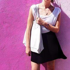 Clover White Leather Tote. Velvet by Graham & Spencer. http://on.shopspring.com/mhaw-2