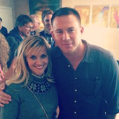 Pin for Later: Reese Witherspoon's Instagram Will Make You Fall in Love With Her All Over Again  The actress just casually hung out with Channing Tatum.