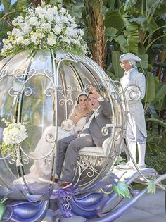 Are you a bride or groom with special accessibility needs? A Disney wedding with all the works is still possible! |  Disneyland Resort Cast Members Help Make Cinderella's Crystal Coach Accessible to Guests with Mobility Issues