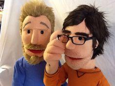 Rhett and Link puppet Summer 2012
