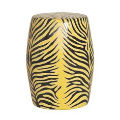 Yellow Zebra Stool / Side Table Courtesy of InStyle-Decor.com Beverly Hills Inspiring & Supporting Hollywood interior design professionals and fans, sharing beautiful Luxe Home Decor Inspirations, Designer Furniture, Table Lamps, Mirrors & Decorative Accents. Trending 1st in Hollywood, Your Welcome To: Repin, Share & Enjoy