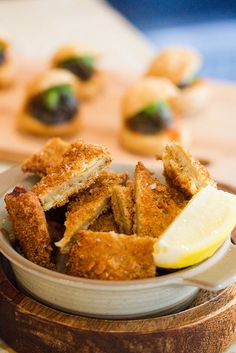 "FRANCE - Lyon Fried breaded tripe - french ""tablier de sapeur"" ""Fireman's Apron"""