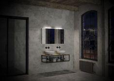 ICHOICE exclusieve industriële europese betaalbare badkamermeubels sanitair wastafels kasten spiegels spiegelkasten onderkasten frame frames