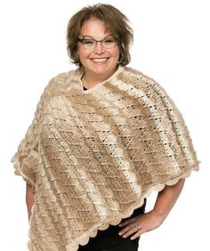 Marly's Perfect Crew Neck Poncho