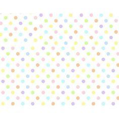 SheetWorld Fitted Pack N Play (Graco Square Playard) Sheet - Pastel Colorful Polka Dots Woven
