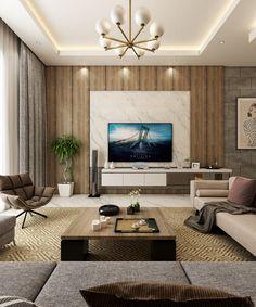 Luxury Modern Villa Qatar On Behance D Best In 2019 - Modern-apartment-design-ideas