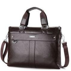 Men Casual Shoulder Bag Business Briefcase Messenger Bag Computer Laptop Handbag