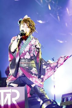 T.M.Revolution   Musical Guest - Saturday Concert -- totally saw him and he was awesome!!