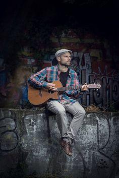Musiker Portrait 1