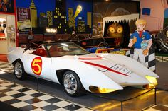 Speed Racer's Mach 5 on display at the Volo Auto Museum, Volo, IL. www.volocars.com