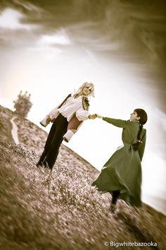 Howl & Sophie, cosplayed by ycysusan