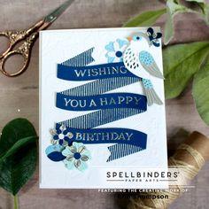 Bird Cards, Animal Cards, Pretty Cards, Paper Art, Artsy, Happy Birthday, Kit, Creative, Journey