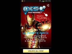 "Iron Man 3D Live Wallpaper Premium Unlock \"" F R E E  - YouTube"