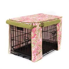 Pretty cover for your dog's crate