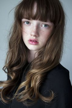 Age and expression is right, but the face, hair color, and freckles are very wrong. Face Hair, My Hair, Portrait Inspiration, Hair Inspiration, Pretty People, Beautiful People, Beautiful Women, Blond Hairs, How To Draw Hair