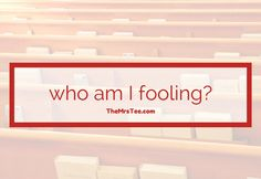 I convinced myself that it wouldn't impact on my salvation or who I was as a Christian. Now I am at a place where I find myself asking - who Am I Fooling? Family Units, Uplifting Words, Marriage Tips, Household Tips, Famous Quotes, Family Life, Helpful Tips, The Fool, Self Help