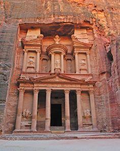 Petra Treasury by Tony Beck on 500px