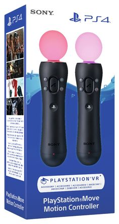 Buy Sony Move Twin Pack at Argos. Thousands of products for same day delivery or fast store collection. Playstation Move, Packing To Move, Pool Cues, Virtual Reality Headset, Ps4 Controller, Ps4 Games, Vr, Sony, Hold On