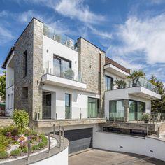 Luxus ingatlan a Balaton parton Shading Device, Shiny Days, Entrance Doors, The Neighbourhood, Most Beautiful, Shades, Exterior, Windows, Mansions