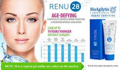 Defy Your Age... With Renu 28 and Renu Advanced. The only skin care with Redox Signaling Molecules. www.need4change.teamasea.com