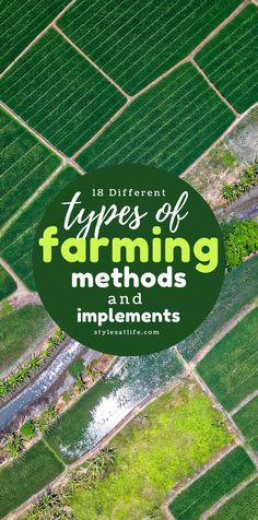 Let us get started and learn something new today – different types of farming methods and farm implements. Types Of Farming, Different Types, New Today, Let It Be, Outdoor Decor, Tips, Recipes, Food, Types Of Agriculture