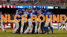 The 2015 New York Mets are NLCS bound! Ny Mets, New York Mets, Lets Go Mets, Go Cubs Go, Baseball, Sports, Hs Sports, Sport