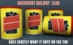 Southport Railway Club: FREE room hire...Fantastic Times....it just does what it says on the tin!!!