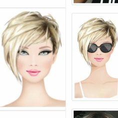 Short Hairstyles For Thick Hair, Short Hair Styles Easy, Short Hair With Layers, Short Bob Haircuts, Short Hair Cuts For Women, Beckham Hair, Sassy Hair, Hair Affair, Hair Styles 2016