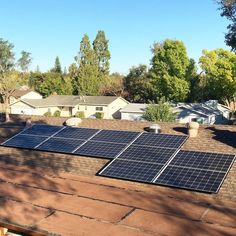 When you get your energy from the sun everything around you is a little bit brighter.  Recent solar installation in Fair Oaks CA. : @energyremodelinginc . . . #solar #energy #renewableenergy #solarpanels #roof #rooftop #sustainable #lifestyle #greenliving #eco #green #sacramento #fairoaks #california #norcal #socal #thepowerisyours #energyremodeling