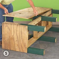 Raised Patio Planter Box - Install the back after the hinge rails are secured. Raised Planter Boxes, Garden Planter Boxes, Patio Planters, Elevated Planter Box, Diy Garden Box, Porch Planter, Garden Ideas, Wood Pallet Planters, Planter Ideas