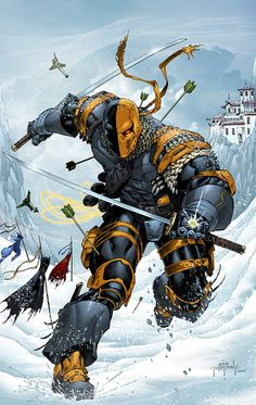 Deathstroke by Jason Metcalf