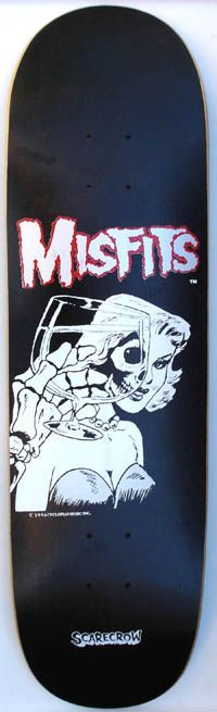 Die Die Die My Darling, Misfits Skate Deck