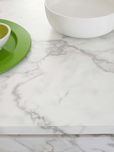 Benchtop Laminex 180fx Carrera Marble Matt finish. Styling Suki Ibbetson. Photography Earl Carter.
