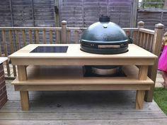 Xl Big Green Egg Table Plans | Table Plans PDF Download