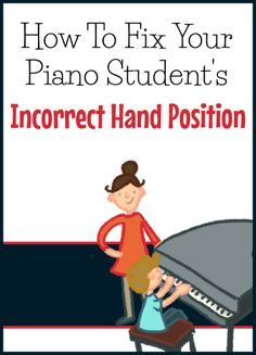 How to fix flat fingers and incorrect hand position... and get your student to care about it!