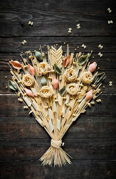 Pasta Bouquet | Photography by Marion Luttenberger