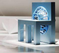Furniture inspired by Swarovski crystal - Eyal Burstein  designs