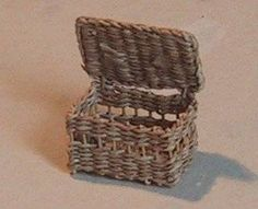A Very Detailed Guide to Basket Weaving and Wicker - in miniature