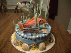 saltwater fish cake with red snapper and speckled trout