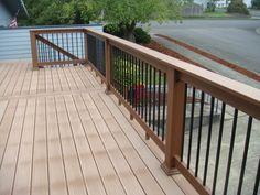 Deck railing designs glass   Deck design and Ideas