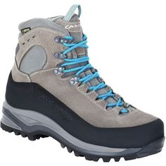 AKU Superalp GTX Backpacking Boot Womens Light GreyTurquoise 95 ** You can get additional details at the image link. (This is an affiliate link) Backpacking Boots, Hiking Gear, Trekking Shoes, Hiking Shoes, Snow Boots, Winter Boots, Weekend Hiking, Hiking Jacket, Trail Shoes